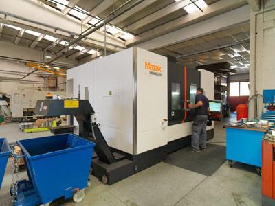 Produzione di componenti e particolari meccanici